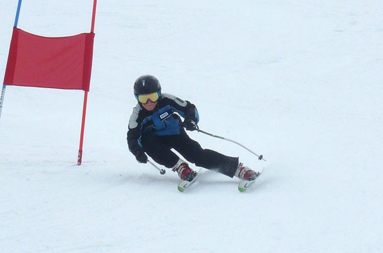 Nauka jazdy na nartach